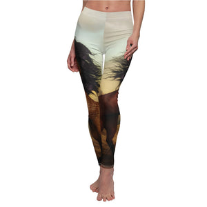 Mystic Horse Athletic Leggings
