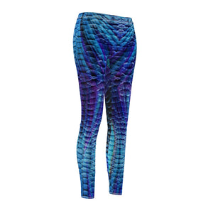 Mermaid Scale Athletic Leggings