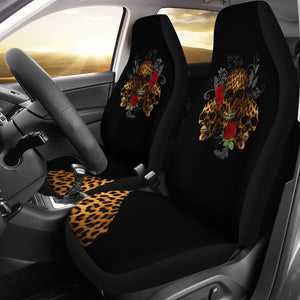 Wild black car seat cover