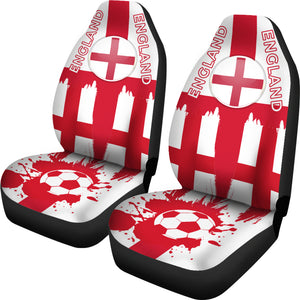 England FC Car Seat Covers