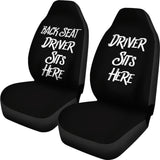 Back Seat Driver Car Seat Covers