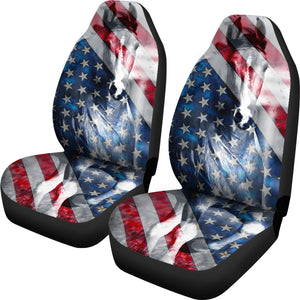 American Horse Car Seat Cover