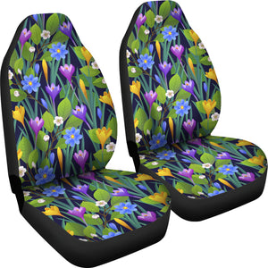 Flower Vintage Car Seat Covers