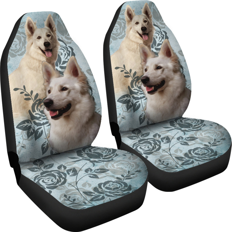 Berger Blanc Suisse Car Seat Covers (Set of 2)