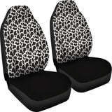 Cow Animal Print Car Seat Covers
