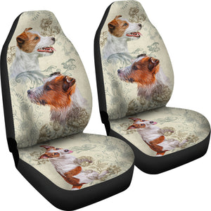 Jack Russell Terrier Car Seat Covers (Set of 2)