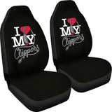 Love Clippers Car Seat Cover