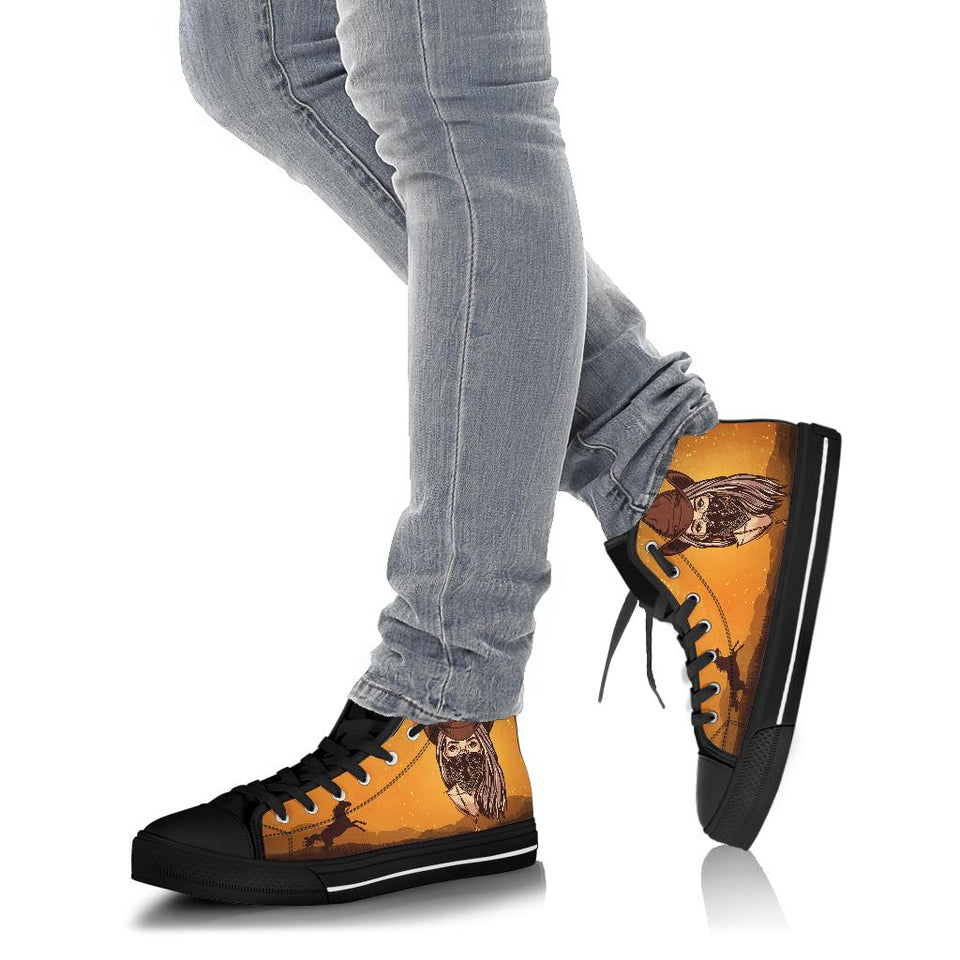 Dream Cowgirl High Top Shoe