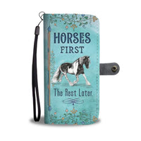 3-in-1 Horse Lover - RFID Wallet Phone Case Bundle