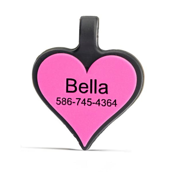 Silidog Heart Tag