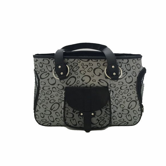Large Designer Dog Purse