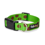 Recycled Polka Dot Dog Collar