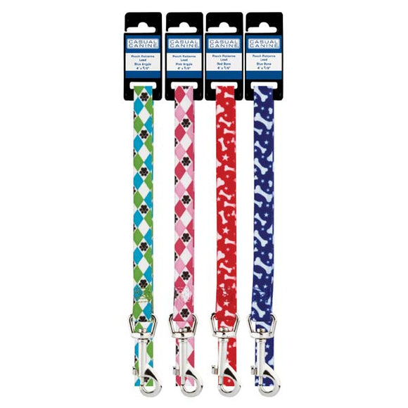 Argyle Pattern Leash