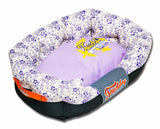Touchdog Purple Floral Bed