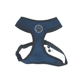 Blue Paw Print Mesh Harness