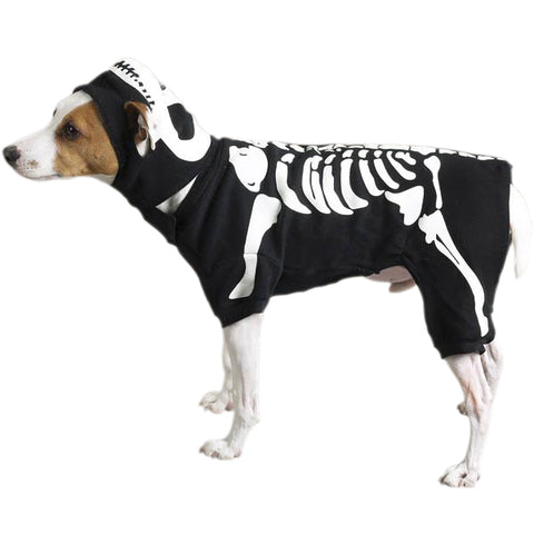 Skeleton Costume w/Hat