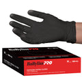 BABYLISSPRO DISPOSABLE MEDIUM NITRILE GLOVES 100 PER BOX