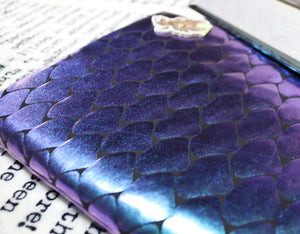Duochrome Dragon Scale | Book Sleeve