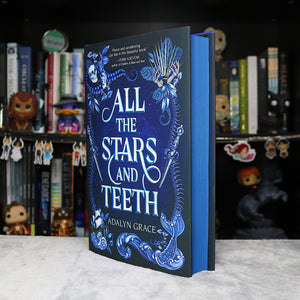 Blue Sprayed Edged | All the Stars and Teeth