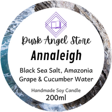 Load image into Gallery viewer, Annaleigh | House of Salt and Sorrows by Erin A. Craig | 200mL Soy Wax Candle