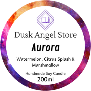 Aurora | Aurora Rising by Amie Kaufman & Jay Kristoff | 200ml Soy Wax Candle