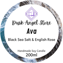 Load image into Gallery viewer, Ava | House of Salt and Sorrows by Erin A. Craig | 200mL Soy Wax Candle