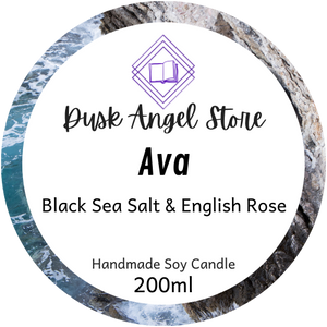 Ava | House of Salt and Sorrows by Erin A. Craig | 200mL Soy Wax Candle