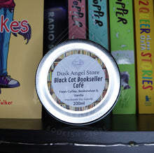 Load image into Gallery viewer, Black Cat Bookseller Café | Mooncakes by Wendy Zu & Suzanne Walker | 200mL Soy Wax Candle