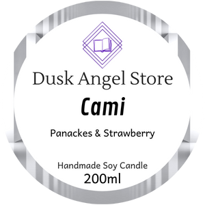 Cami | Whisper by Lynette Noni | 200ml Soy Wax Candle