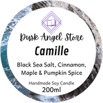 Camille | House of Salt and Sorrows by Erin A. Craig | 200mL Soy Wax Candle