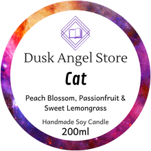 Load image into Gallery viewer, Cat | Aurora Rising by Amie Kaufman & Jay Kristoff | 200ml Soy Wax Candle