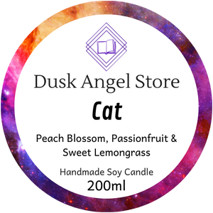 Cat | Aurora Rising by Amie Kaufman & Jay Kristoff | 200ml Soy Wax Candle