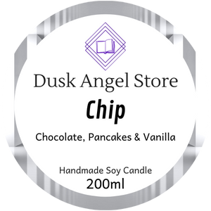Chip | Whisper by Lynette Noni | 200ml Soy Wax Candle