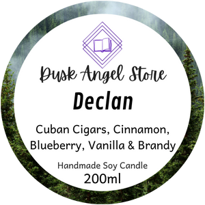 Declan | The Medoran Chronicles by Lynette Noni | 200ml Soy Wax Candle