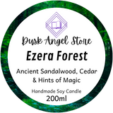 Ezera Forest | The Medoran Chronicles by Lynette Noni | 200ml Soy Wax Candle