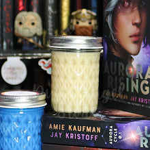 Load image into Gallery viewer, Finian | Aurora Rising by Amie Kaufman & Jay Kristoff | 200ml Soy Wax Candle