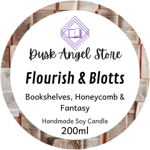 Flourish & Blotts - 200ml Soy Wax Candle