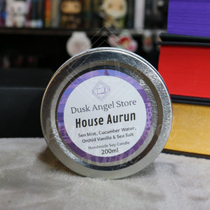 House Aurun | House of Dragons | 200ml Soy Wax Candle