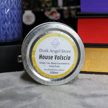 Load image into Gallery viewer, House Volscia | House of Dragons by Jessica Cluess | 200ml Soy Wax Candle
