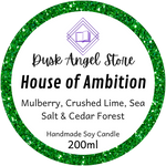 House of Ambition | Harry Potter | 200ml Soy Wax Candle