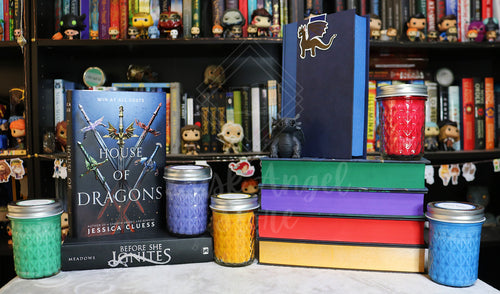 House of Dragons 5 Pack | Jessica Cluess | 200ml Soy Wax Candles