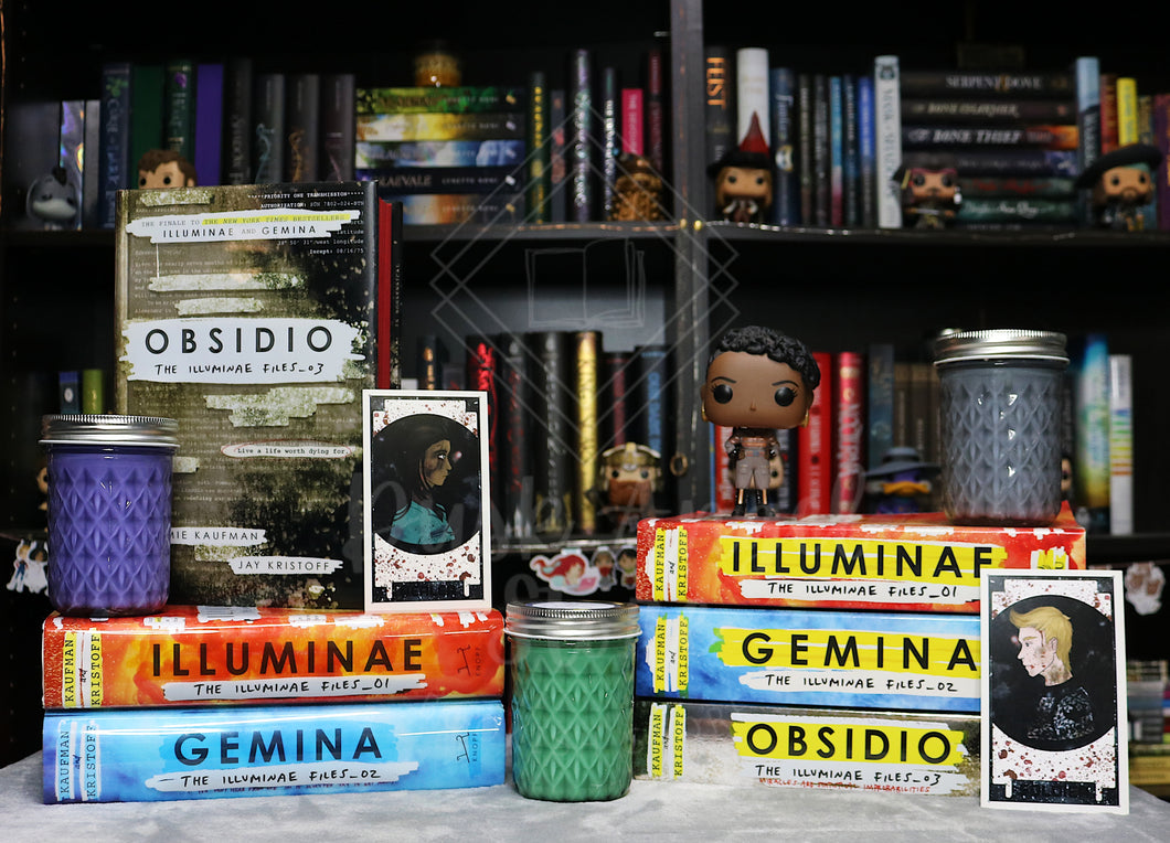 Obsidio 3 Pack | The Illuminae Files | 200mL Soy Wax Candle