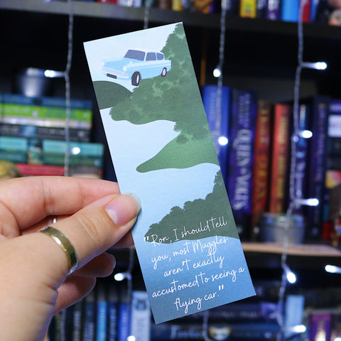 Flying Car | Harry Potter | Bookmark