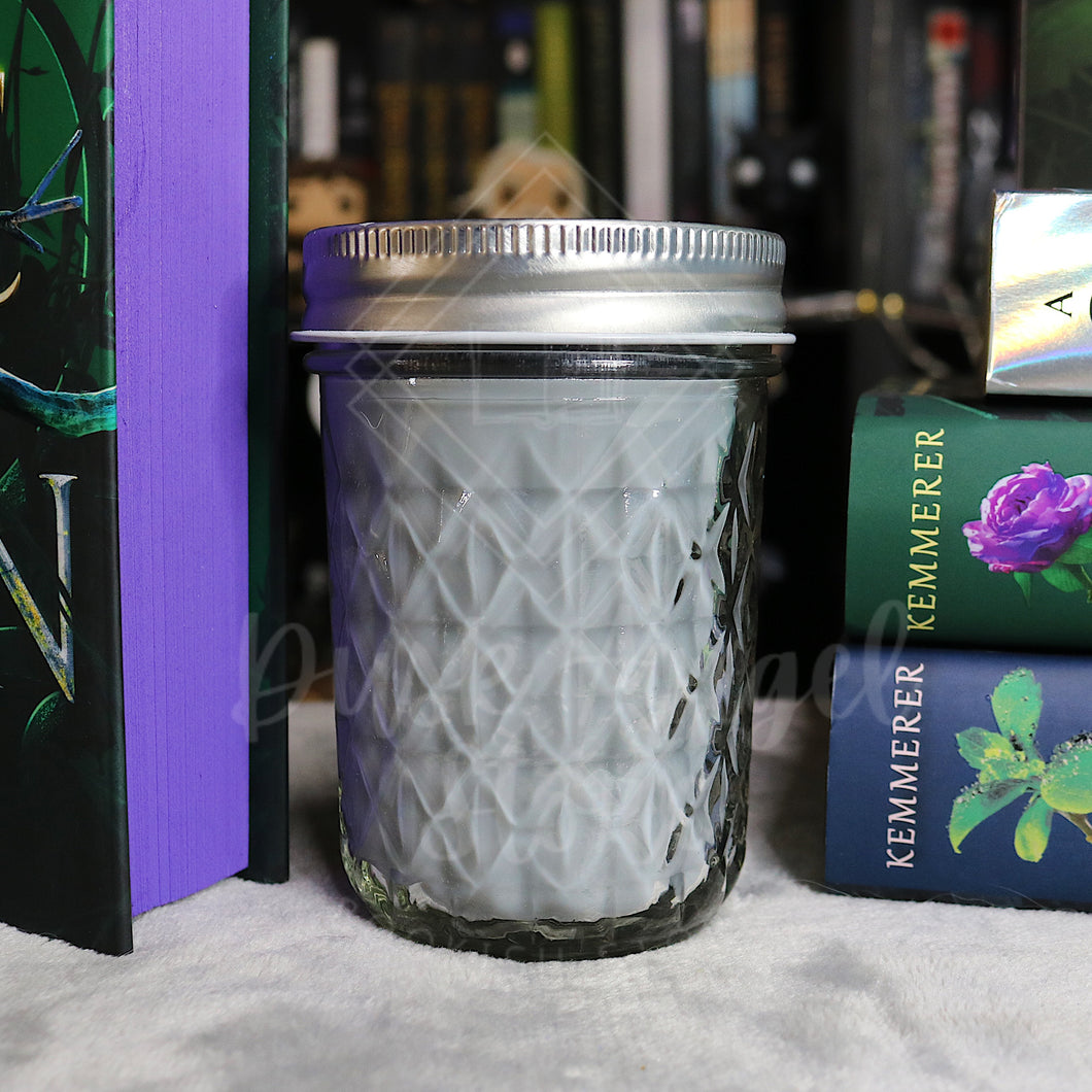 Ironrose Castle | A Curse so Dark and Lonely by Brigid Kemmerer | 200ml Soy Wax Candle