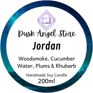 Jordan | The Medoran Chronicles by Lynette Noni | 200ml Soy Wax Candle