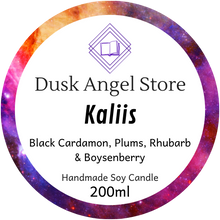 Load image into Gallery viewer, Kaliis | Aurora Rising by Amie Kaufman & Jay Kristoff | 200ml Soy Wax Candle