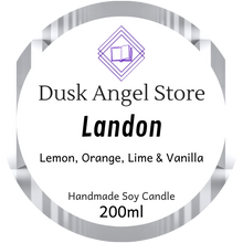 Load image into Gallery viewer, Landon | Whisper by Lynette Noni | 200ml Soy Wax Candle