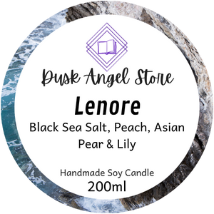 Lenore | House of Salt and Sorrows by Erin A. Craig | 200mL Soy Wax Candle