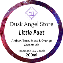 Load image into Gallery viewer, Little Poet | The Illuminae Files | 200mL Soy Wax Candle