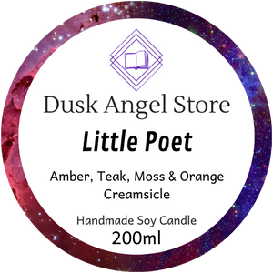 Little Poet | The Illuminae Files | 200mL Soy Wax Candle